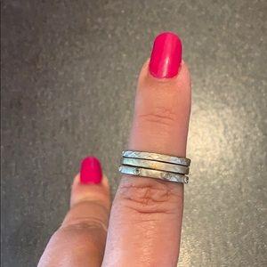 3 Silpada rings!